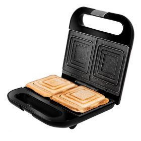 Retourdeal R2 - Cecotec Tosti apparaat Perfect toasting - Tosti ijzer - Grill Contactgrill - Tostiijzer